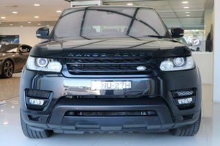 2016 Land Rover Range Rover Sport L494 16MY HSE Black 8 Speed Sports Automatic Wagon
