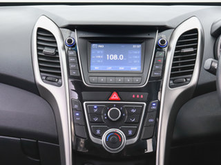 2015 Hyundai i30 GD3 Series 2 Active X Silver 6 Speed Automatic Hatchback