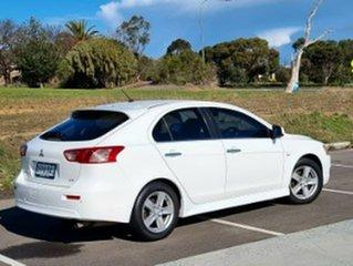 2013 Mitsubishi Lancer CJ MY14 LX Sportback White 6 Speed Constant Variable Hatchback.
