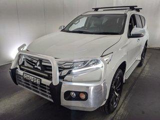 2016 Mitsubishi Pajero Sport QE MY16 GLS White 8 Speed Sports Automatic Wagon.