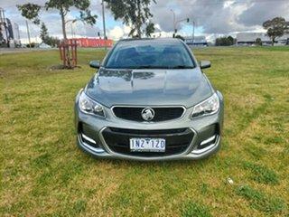 2016 Holden Commodore VF II MY16 SV6 Grey 6 Speed Sports Automatic Sedan.