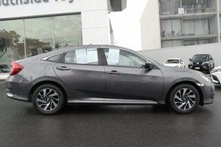 2017 Honda Civic 10th Gen MY16 VTi-S Grey 1 Speed Constant Variable Sedan.