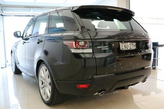 2016 Land Rover Range Rover Sport L494 16MY HSE Black 8 Speed Sports Automatic Wagon.