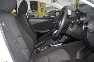 2017 Mazda 2 DL2SAA Maxx SKYACTIV-Drive Snowflake White Pearl 6 Speed Sports Automatic Sedan