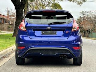 2016 Ford Fiesta WZ ST Blue 6 Speed Manual Hatchback