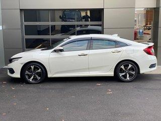 2017 Honda Civic 10th Gen MY17 RS White 1 Speed Constant Variable Sedan