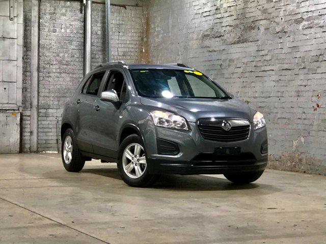 Used Holden Trax TJ MY15 LS Mile End South, 2015 Holden Trax TJ MY15 LS Grey 6 Speed Automatic Wagon