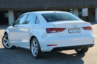 2014 Audi A3 8V MY14 Ambition S Tronic White 7 Speed Sports Automatic Dual Clutch Sedan.