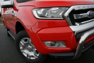2016 Ford Ranger PX MkII XLT 3.2 Hi-Rider (4x2) Red 6 Speed Automatic Crew Cab Pickup.