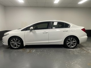 2012 Honda Civic 9th Gen Sport Taffeta White 5 Speed Sports Automatic Sedan