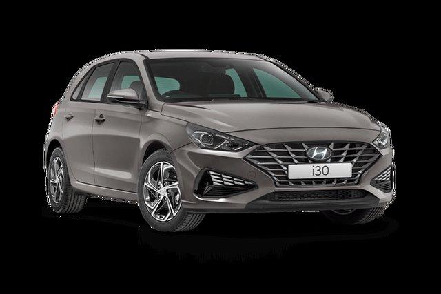New Hyundai i30 PD.V4 MY21 Hamilton, 2021 Hyundai i30 PD.V4 MY21 Fluid Metal 6 Speed Sports Automatic Hatchback