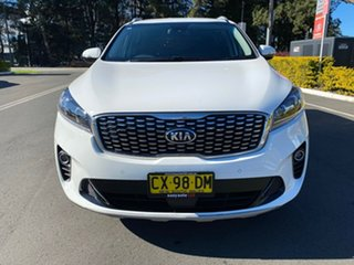 2018 Kia Sorento UM MY19 SI White 8 Speed Sports Automatic Wagon.