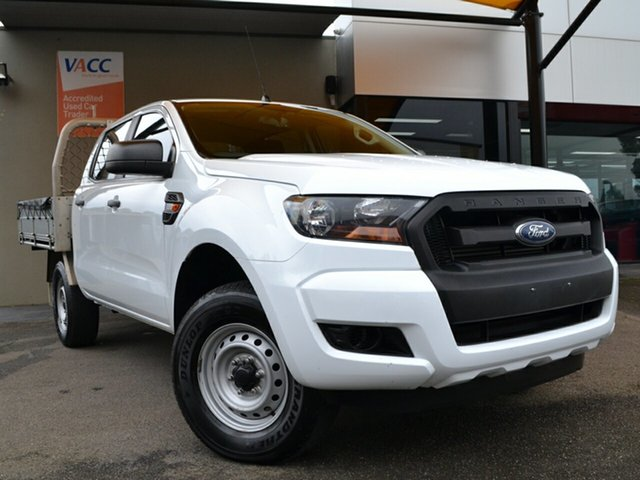 Used Ford Ranger PX MkII XL Hi-Rider Fawkner, 2017 Ford Ranger PX MkII XL Hi-Rider White 6 Speed Sports Automatic Cab Chassis