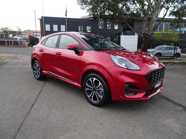 Used Ford Puma JK 2020.75MY ST-Line Nowra, 2020 Ford Puma JK 2020.75MY ST-Line Lucid Red 7 Speed Automatic Wagon