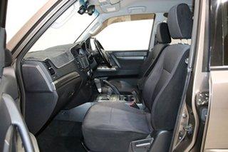 2012 Mitsubishi Pajero NW MY12 Platinum Edition Brown 5 Speed Auto Sports Mode Wagon