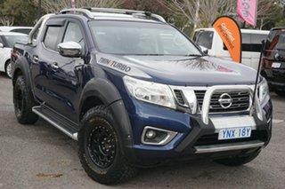2016 Nissan Navara D23 ST-X 4x2 Blue 7 Speed Sports Automatic Utility.