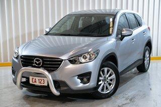 2016 Mazda CX-5 KE1022 Maxx SKYACTIV-Drive AWD Sport Silver 6 Speed Sports Automatic Wagon.