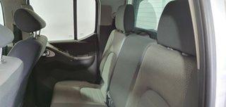 2011 Nissan Navara D40 ST Silver 5 Speed Automatic Utility