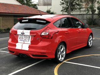 2014 Ford Focus LW MkII ST Red 6 Speed Manual Hatchback.