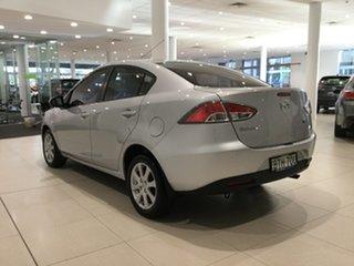 2010 Mazda 2 DE10Y1 MY10 Maxx Highlight Silver 4 Speed Automatic Sedan
