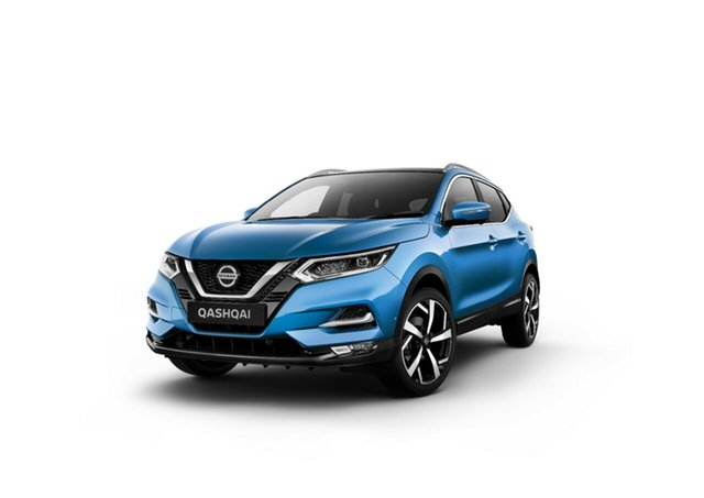 New Nissan Qashqai J11 Series 3 MY20 Ti X-tronic Moorooka, 2021 Nissan Qashqai J11 Series 3 MY20 Ti X-tronic Vivid Blue 1 Speed Constant Variable Wagon