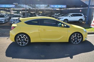 2015 Holden Astra PJ VXR Yellow 6 Speed Manual Hatchback.