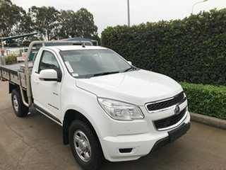 2012 Holden Colorado RG MY13 LX Summit White 6 speed Automatic Cab Chassis.
