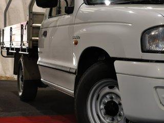 2003 Mazda Bravo B2600 DX 4x2 White 5 Speed Manual Cab Chassis
