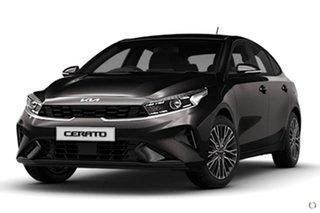 2021 Kia Cerato BD MY22 Sport+ Black 6 Speed Sports Automatic Hatchback