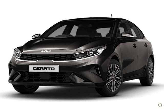 New Kia Cerato BD MY22 Sport+ Reynella, 2021 Kia Cerato BD MY22 Sport+ Black 6 Speed Sports Automatic Hatchback