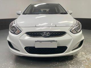 2019 Hyundai Accent RB6 MY19 Sport Chalk White 6 Speed Sports Automatic Hatchback.