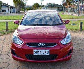 2017 Hyundai Accent RB5 MY17 Sport Red 6 Speed Sports Automatic Hatchback