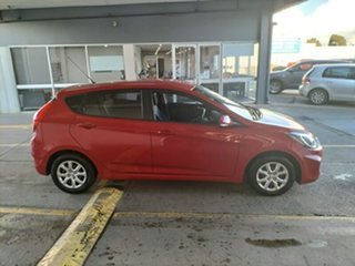 2014 Hyundai Accent RB2 Active Red 4 Speed Sports Automatic Hatchback