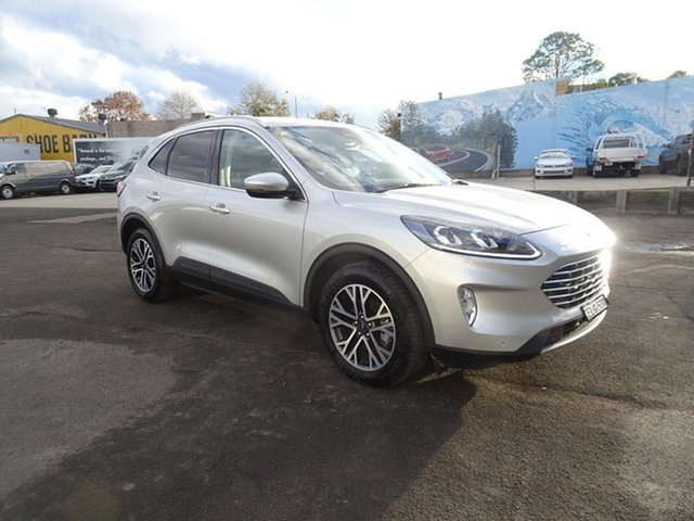 Used Ford Escape ZH 2020.75MY Nowra, 2020 Ford Escape ZH 2020.75MY Moondust Silver 8 Speed Automatic SUV