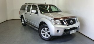 2011 Nissan Navara D40 ST Silver 5 Speed Automatic Utility.