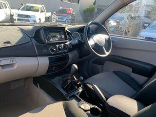 2013 Mitsubishi Triton MN MY13 GLX Double Cab Red 5 Speed Manual Utility