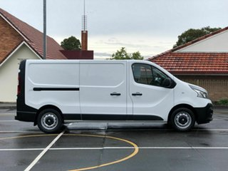 2016 Renault Trafic X82 103KW Low Roof LWB White 6 Speed Manual Van.