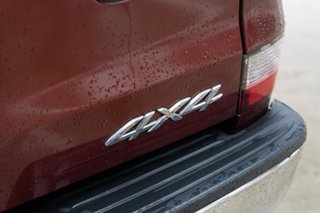 2012 Mazda BT-50 UP0YF1 GT Copper Red 6 Speed Sports Automatic Utility