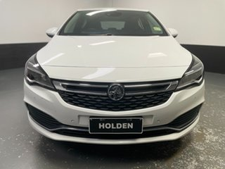 2017 Holden Astra BK MY17 RS White 6 Speed Sports Automatic Hatchback.