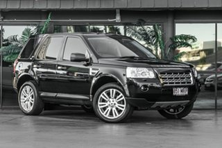 2009 Land Rover Freelander 2 LF 10MY Si6 SE Black 6 Speed Sports Automatic Wagon.