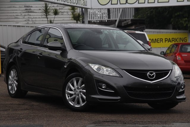 Used Mazda 6 GH1052 MY10 Classic Moorooka, 2011 Mazda 6 GH1052 MY10 Classic Grey 5 Speed Sports Automatic Sedan