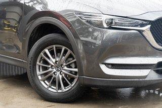 2017 Mazda CX-5 KF2W7A Maxx SKYACTIV-Drive FWD Sport Machine Grey 6 Speed Sports Automatic Wagon.