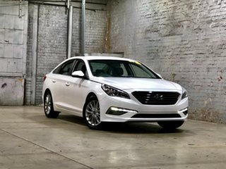 2015 Hyundai Sonata LF2 MY16 Active White 6 Speed Sports Automatic Sedan.