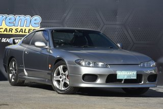 2002 Nissan 200SX S15 Spec S GT Grey 6 Speed Manual Coupe.