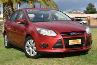 2012 Ford Focus LW Ambiente PwrShift Red 6 Speed Sports Automatic Dual Clutch Hatchback.