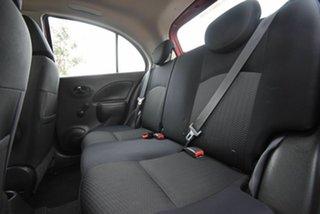 2014 Nissan Micra K13 MY13 ST Red 5 Speed Manual Hatchback