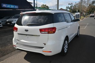 2016 Kia Carnival YP MY16 Update S White 6 Speed Automatic Wagon.
