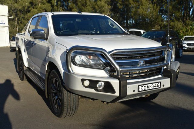 Used Holden Colorado RG MY17 LTZ Pickup Crew Cab Gosford, 2017 Holden Colorado RG MY17 LTZ Pickup Crew Cab White 6 Speed Sports Automatic Utility