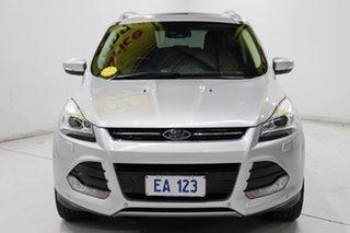 2014 Ford Kuga TF MY15 Titanium AWD Silver 6 Speed Sports Automatic Wagon.