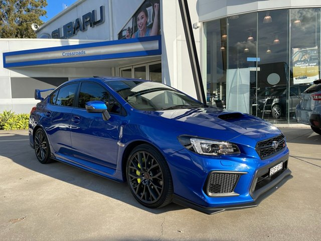 Used Subaru WRX V1 MY18 STI AWD spec.R Glendale, 2017 Subaru WRX V1 MY18 STI AWD spec.R Blue 6 Speed Manual Sedan
